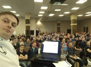 Тимофей Мартынов на Дне Пербургского инвестора 2017г.